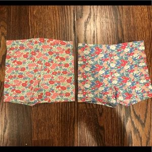 Boden Bottoms - Set of 2 Mini Boden Shorts